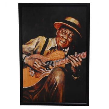 Guitar Framed Wall Art