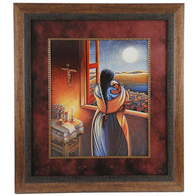 'Love At All Times' Framed Wall Art