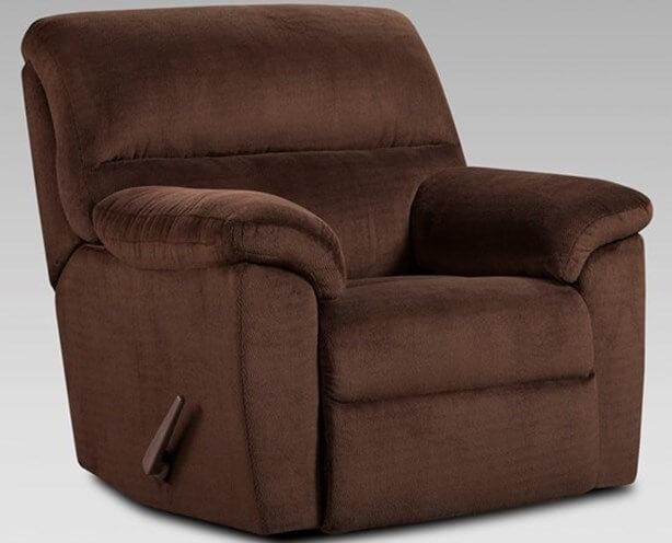 Chevron Mink Reclining Sofa and Loveseat Set