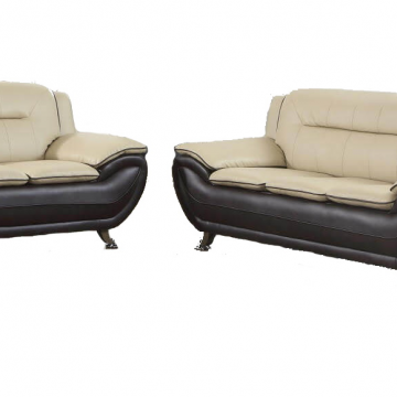 Lavernia Chesterfied Navy Blue Sofa And Loveseat Living