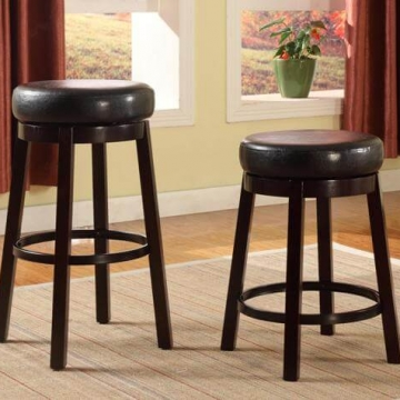 Wendy Swivel Bar Stools by Crown Mark