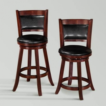 Cecil Swivel Bar Stools by Crown Mark