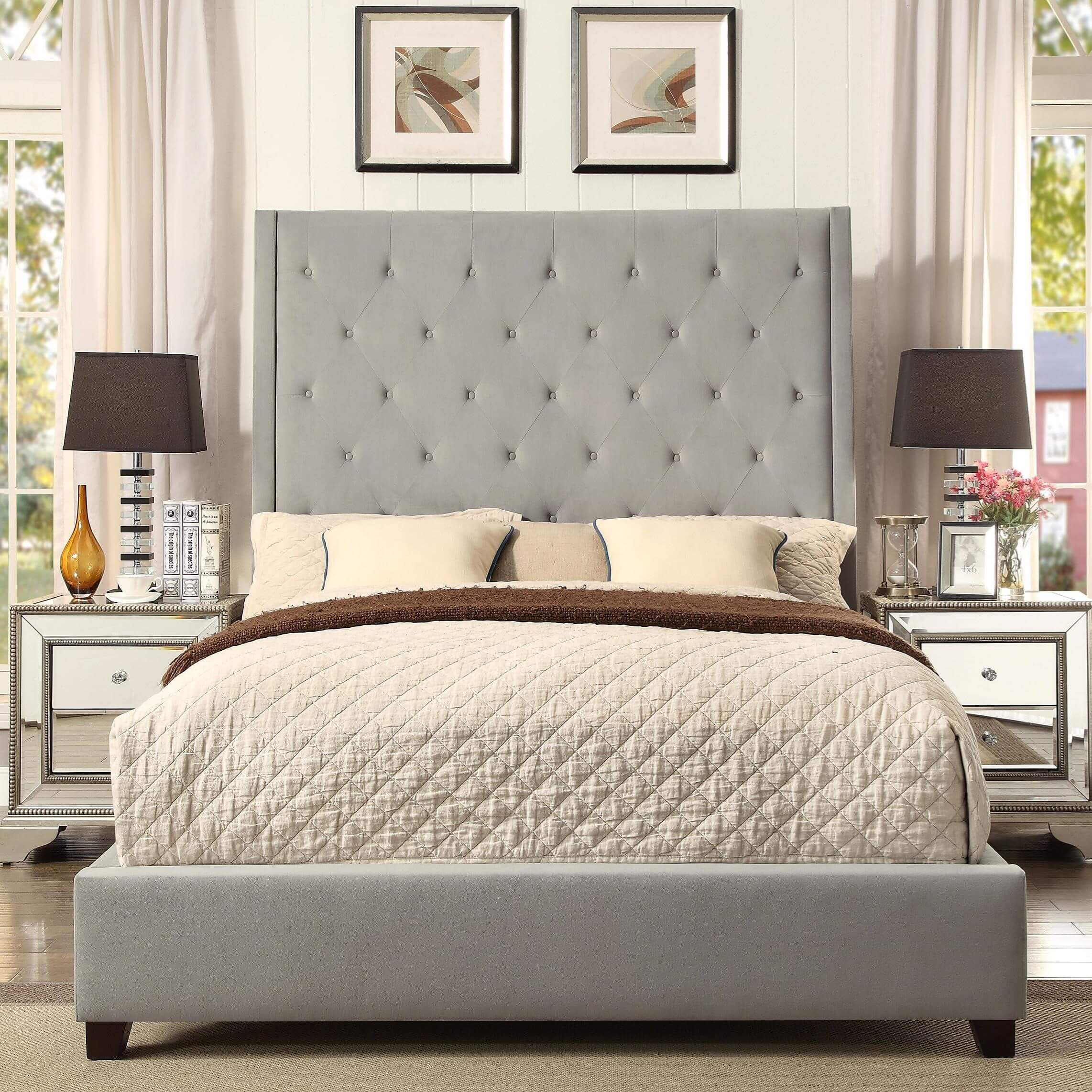 Reese Tufted Bed