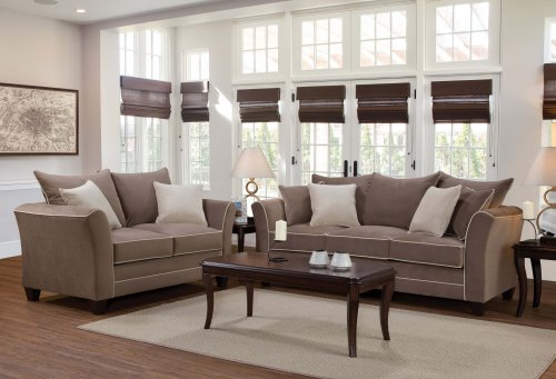 Bing Antler Sofa and Loveseat Set
