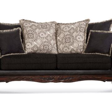 Radar Brown Sofa And Loveseat Fabric Living Room Sets