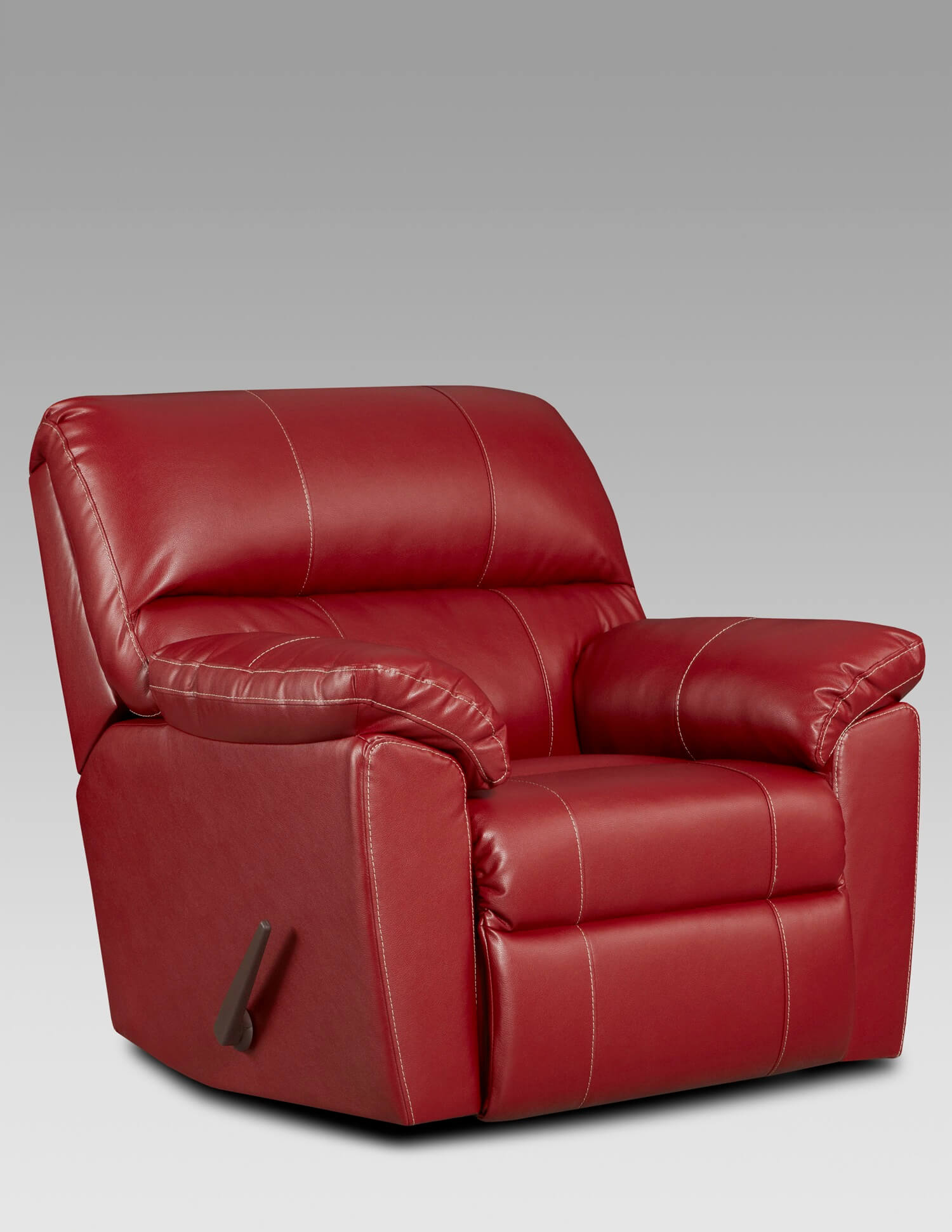 Austin Red Rocker Recliner Recliners