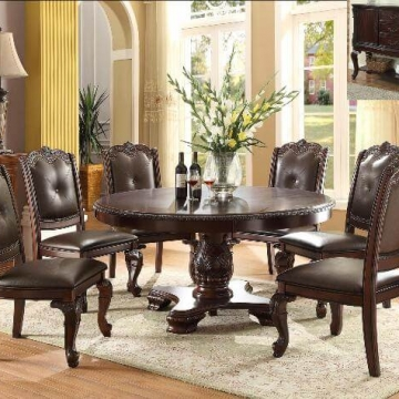 Kiera Round Dining Table Set