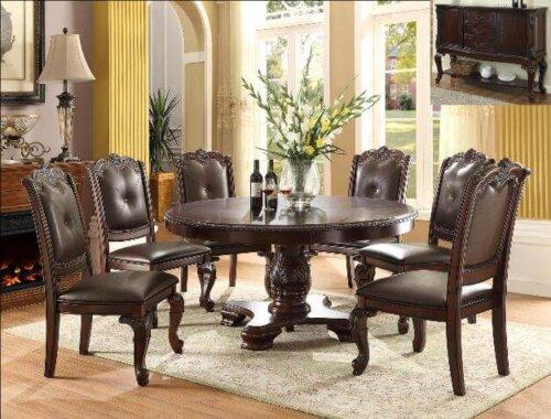 Kiera Round Dining Table Set