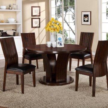 Daria Espresso Dining Set