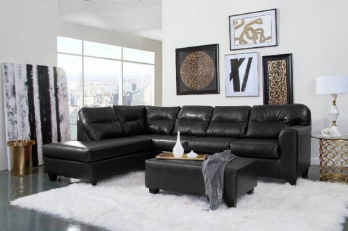 Bravo Black Sectional