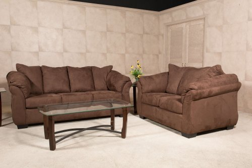 Bulldozer Java Sofa and Loveseat