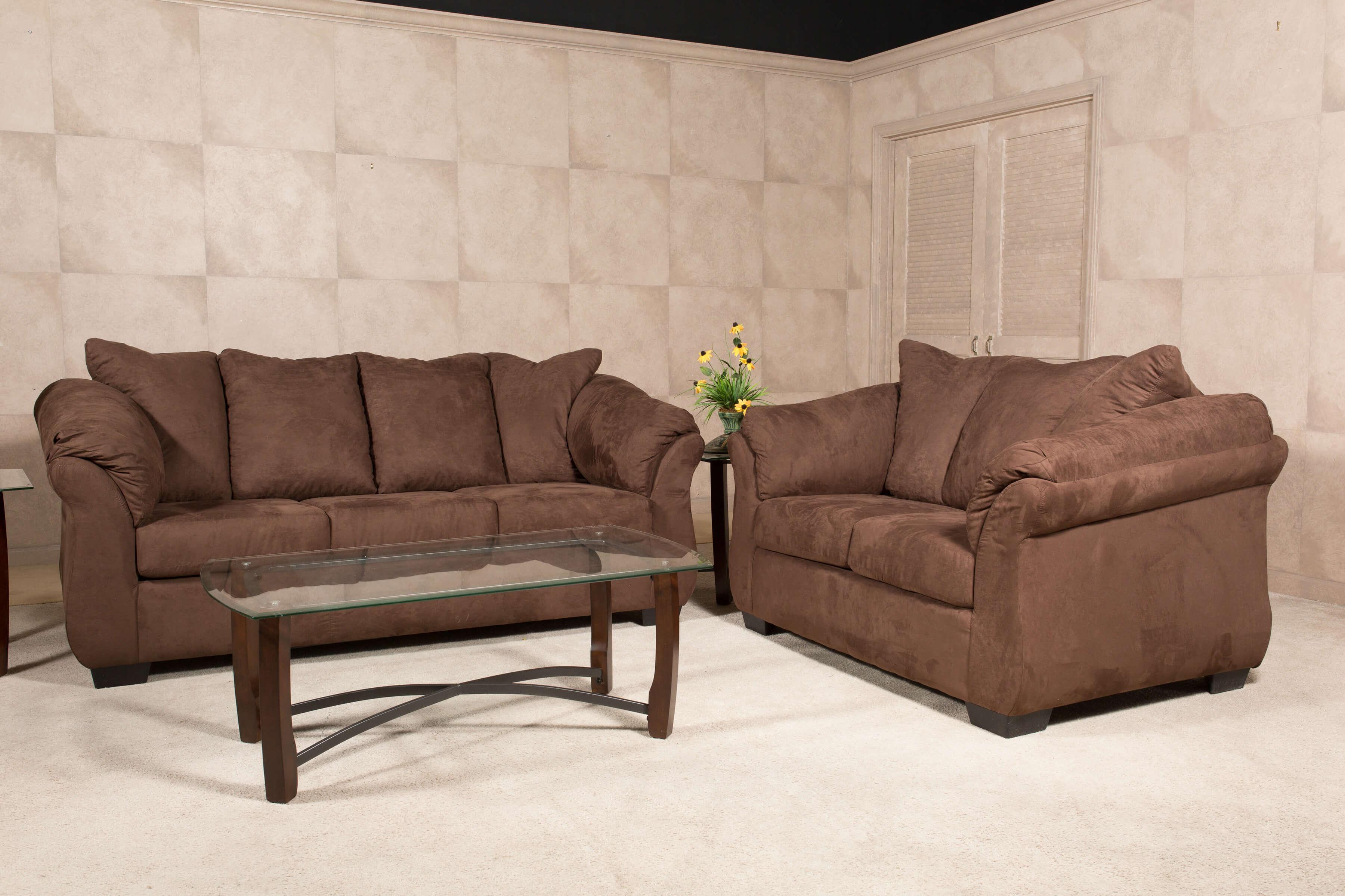 Bulldozer Java Sofa and Loveseat