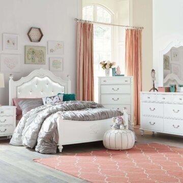 Olivia White Bedroom Set by Standard Furniture