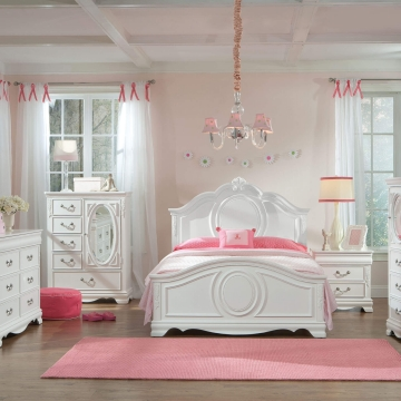 Jessica White Bedroom Set by Standard Furniture