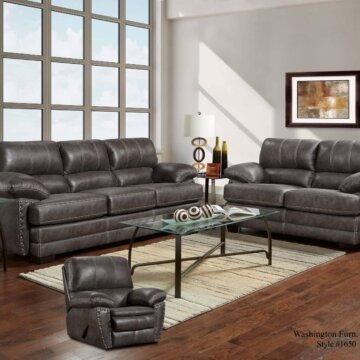 Nevada Ash Sofa and Loveseat