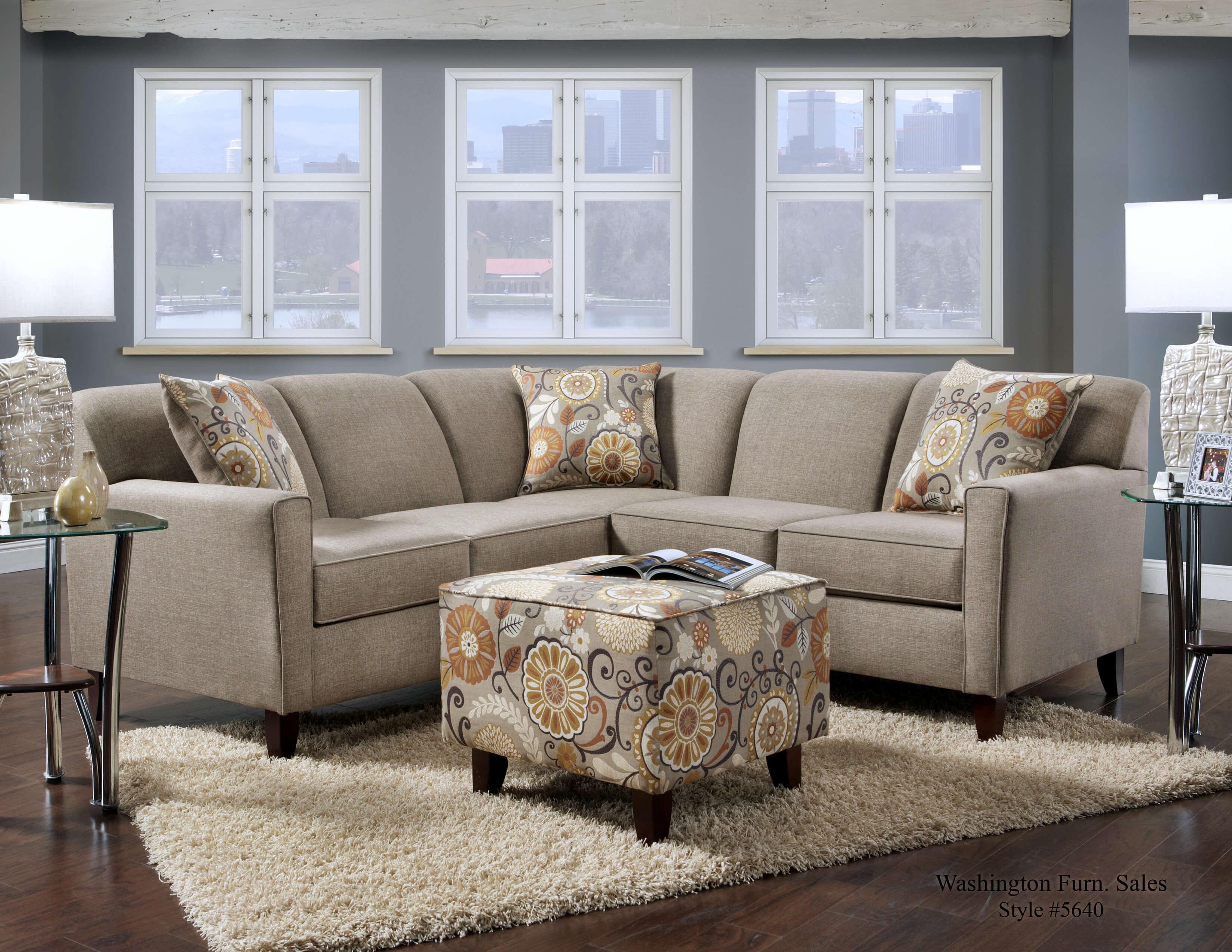 Grande Badger Sectional Sectional Sofa Sets