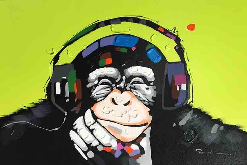 Chimp Headphones GREEN