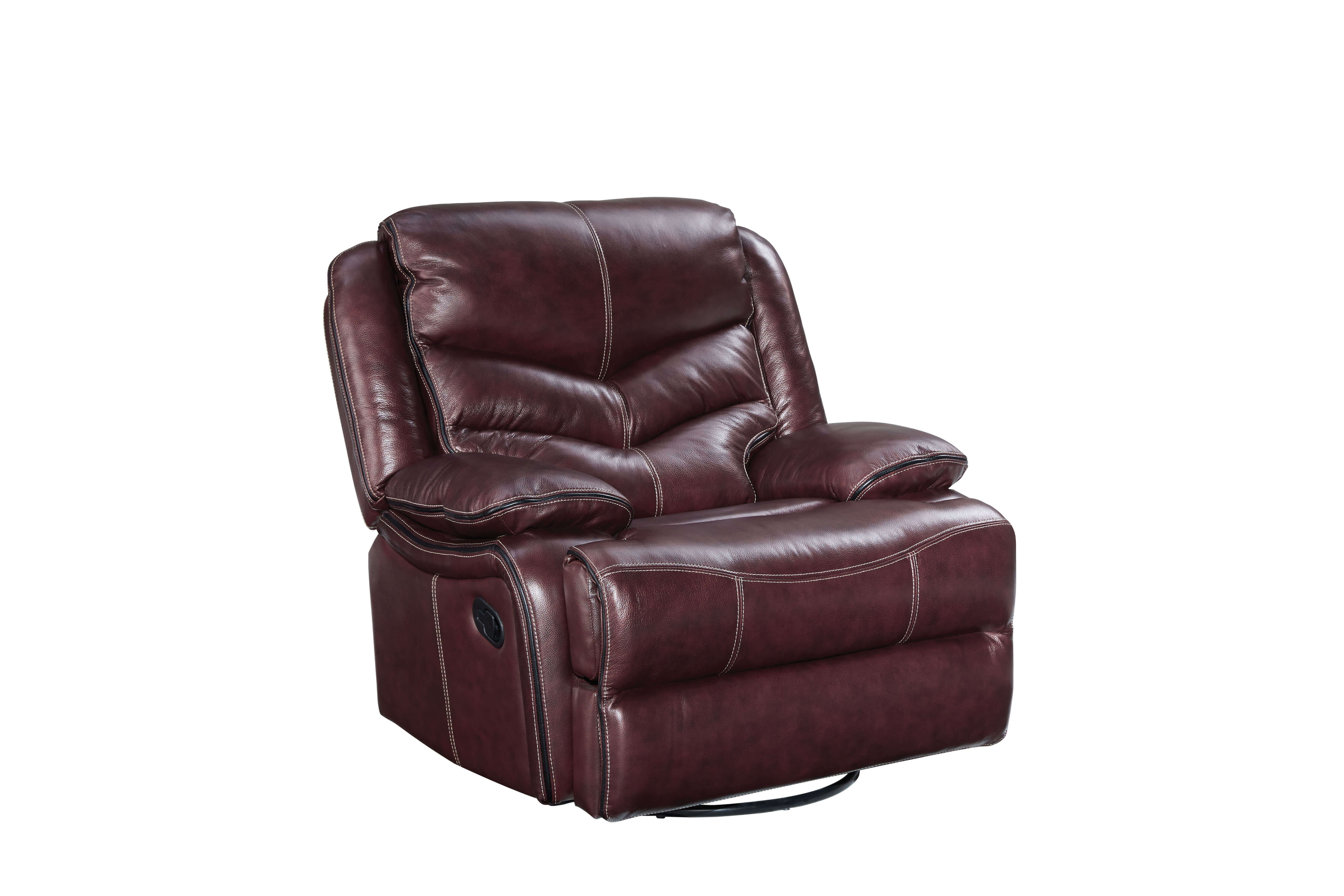 Denali Leather Reclining Sofa And Loveseat By Standard