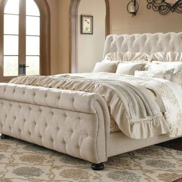 Willenburg Linen Bed from Ashley Furniture