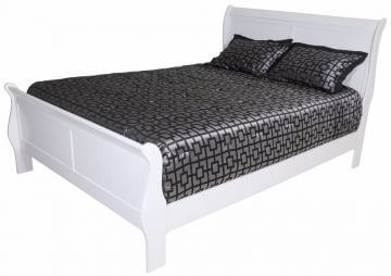 White King Sleigh Bed by Crown Mark