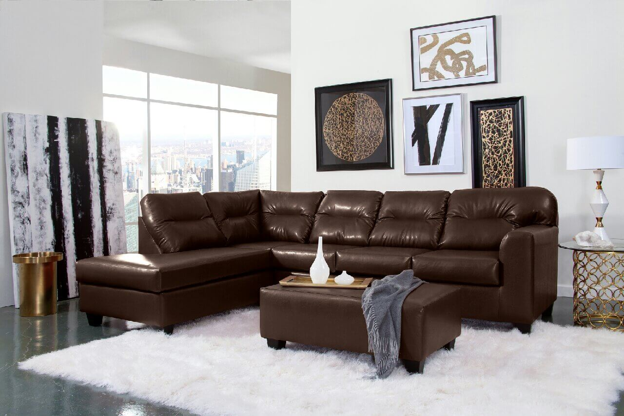Bravo Brown Sectional