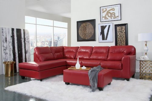 Bravo Red Sectional