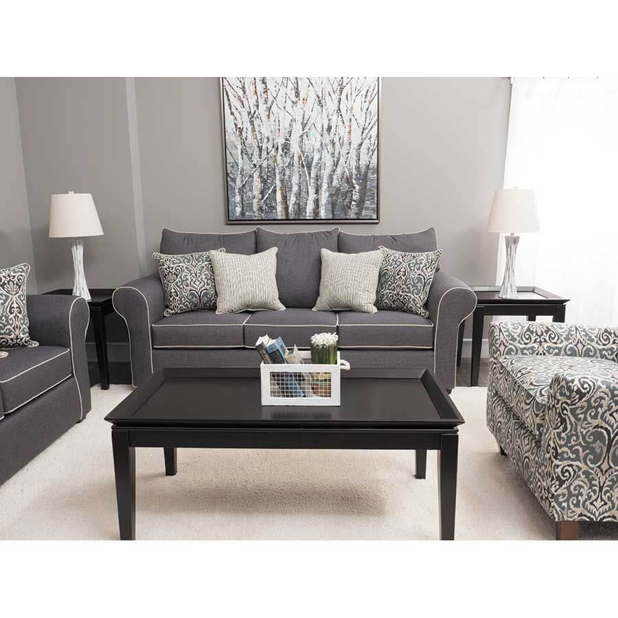jitterbug grey sofa and loveseat by washington living room sets. Black Bedroom Furniture Sets. Home Design Ideas