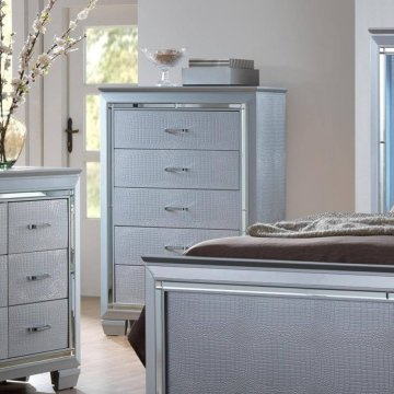 Lillian Bling Dresser by Crown Mark