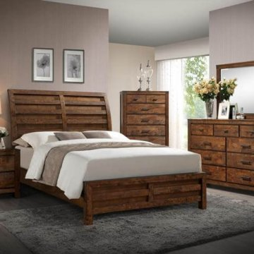 Curtis Rustic Bedroom Set