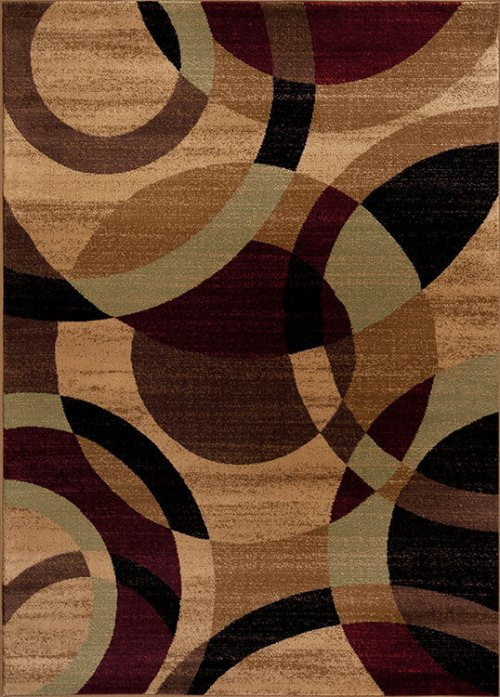 Multi Brown Rug