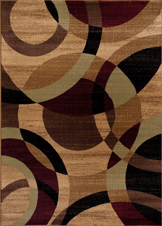 Multi Brown Alpine Rug Rugs Urban Furniture Outlet