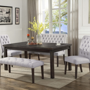 palmer dining set with bench