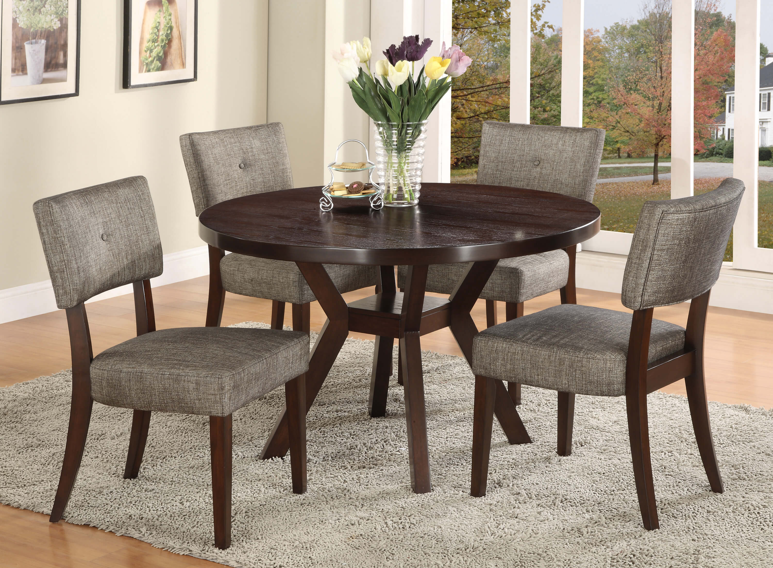 Kayla 5 Pc Dining Room Set Urban Furniture Outlet