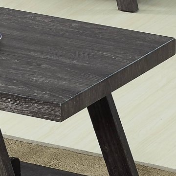 Grey Coffee and End Table Set