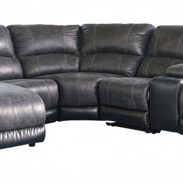 Nantahala Slate Sectional with Chaise