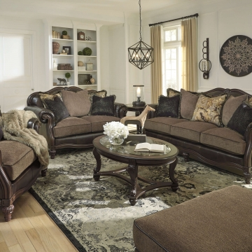 Winnsboro Classic Sofa and Loveseat