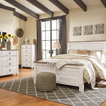 Willowton Panel Bedroom Set