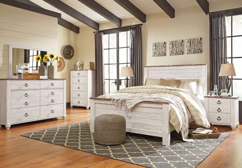 Willowton Panel Bedroom Set