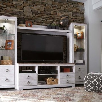 Willowton Entertainment Wall Unit