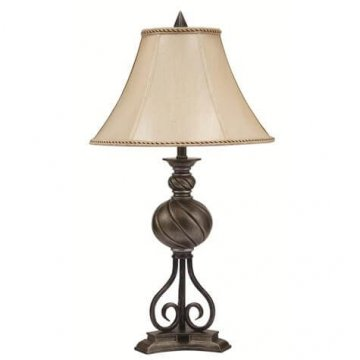 Swirl Ball Table Lamp