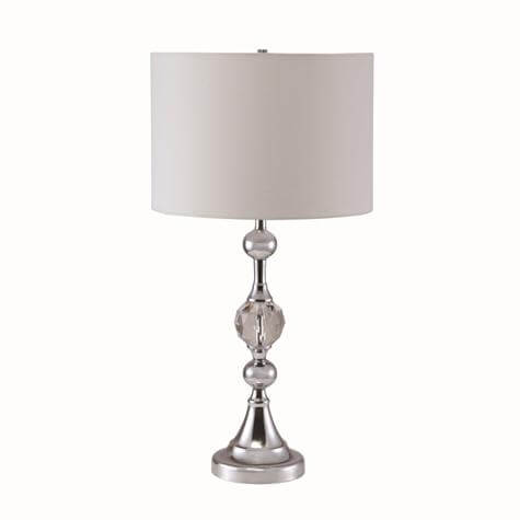 Chrome And Faux Crystal Table Lamp Urban Furniture Outlet