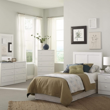 Kith White Bedroom Set