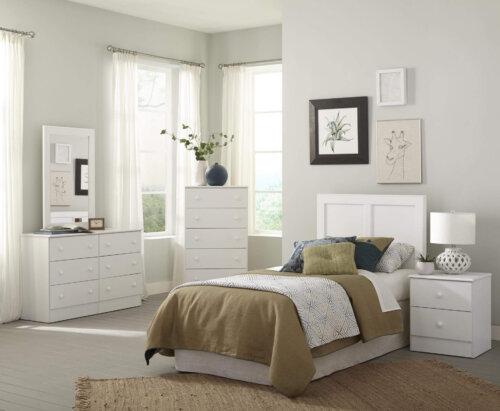 Kith White Bedroom Set
