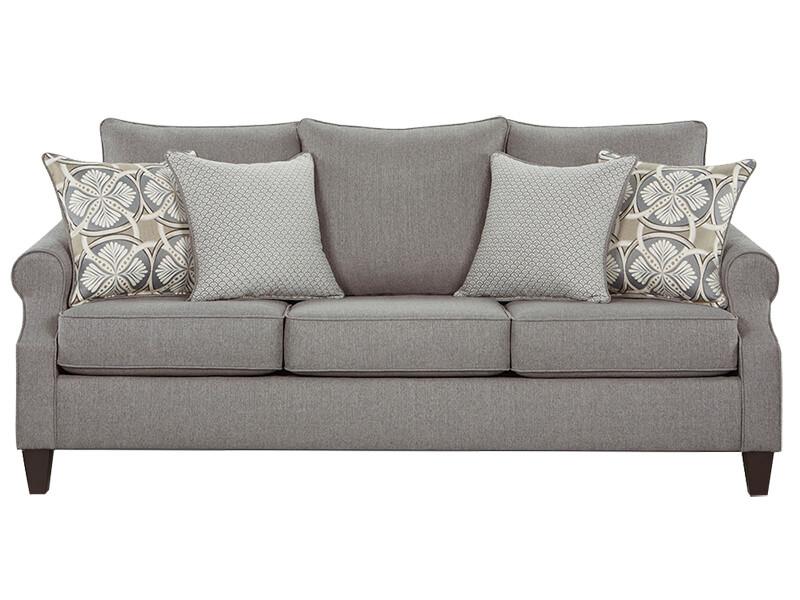 Bay Ridge Grey Sofa and Loveseat