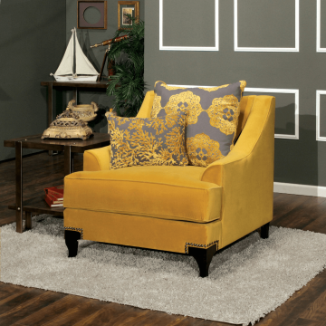 Viscontti Gold Sofa and Loveseat