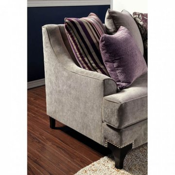 Viscontti Vintage Taupe Sofa and Loveseat