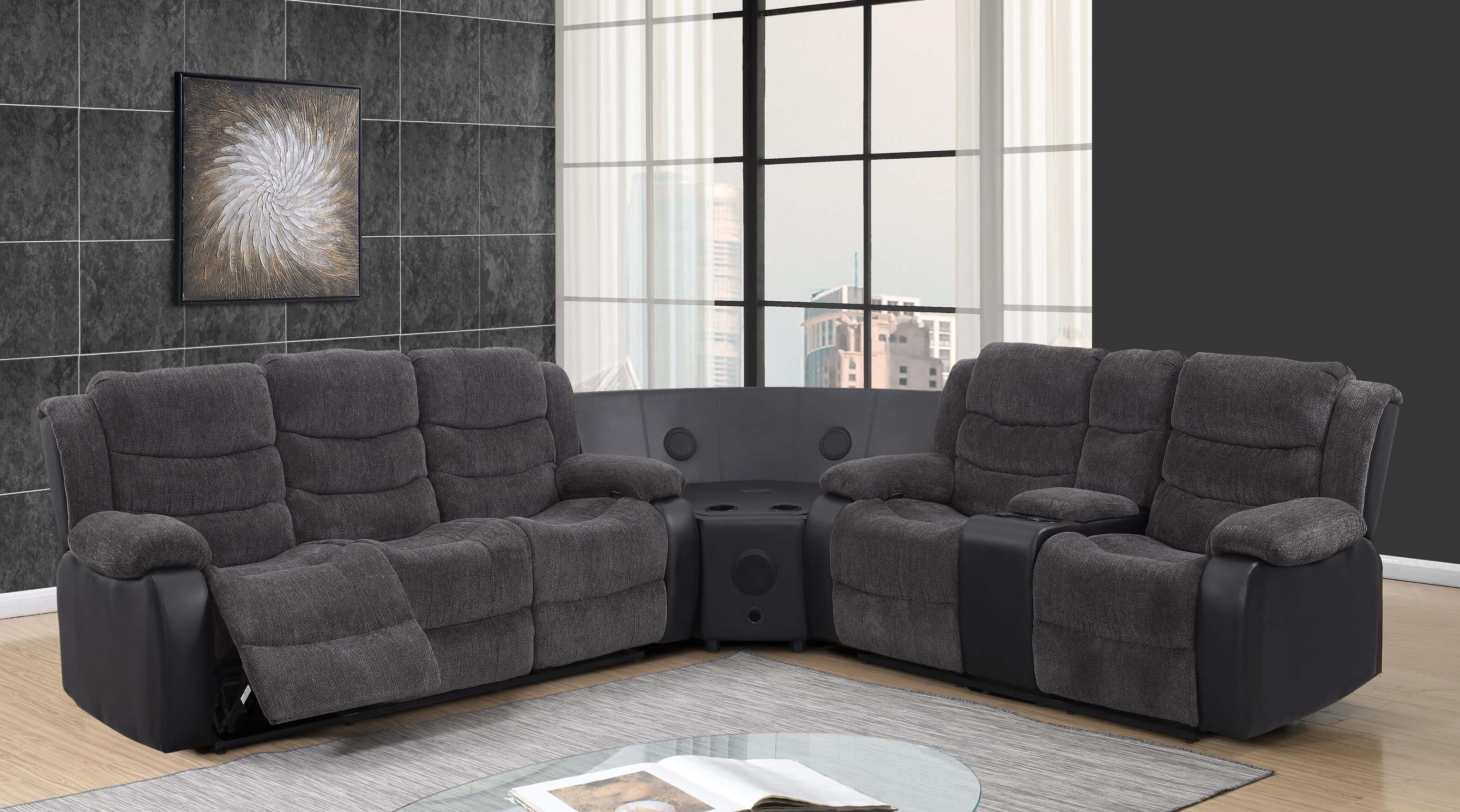 Cool U125 Enzo Denim Stereo Sectional Discontinued Machost Co Dining Chair Design Ideas Machostcouk