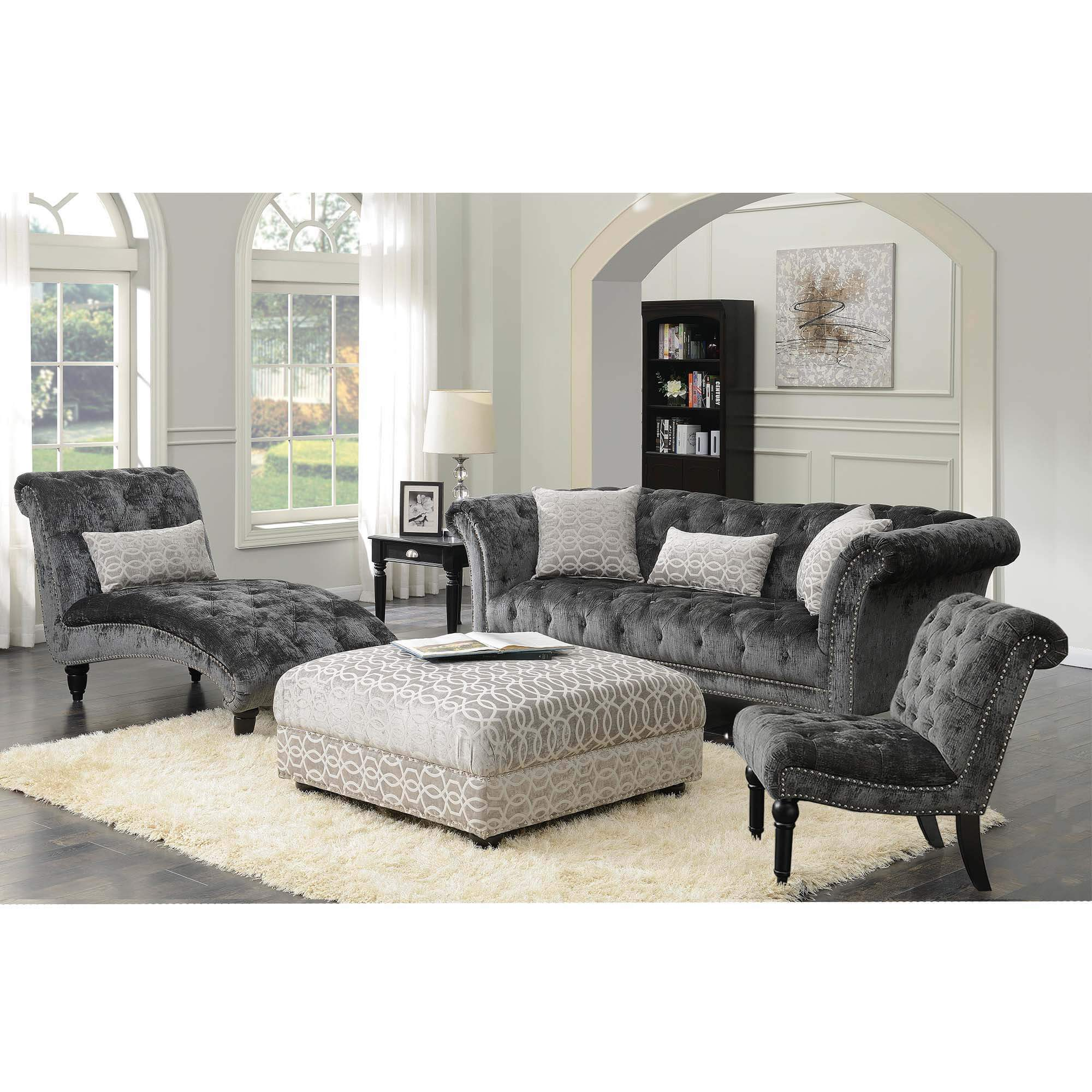 Twain Charcoal Sofa Urban Furniture Outlet