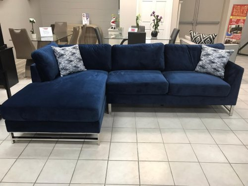 Broadway Navy Sectional