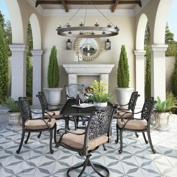 Rose View Patio Dining Set